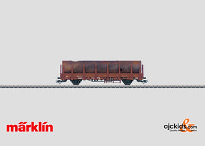 Marklin 46962 - Stake Car with a Load in H0 Scale