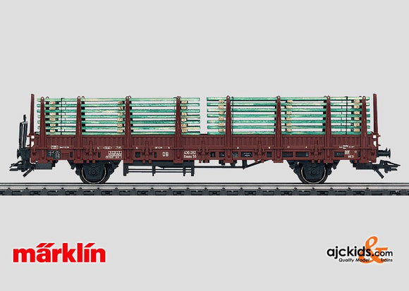 Marklin 46975 - Stake Car in H0 Scale