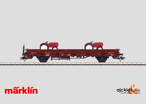 Marklin 46977 - Low Side Car with Load.