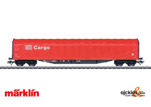 Marklin 47002 - Low Side Car with a Sliding Tarp Cover in H0 Scale