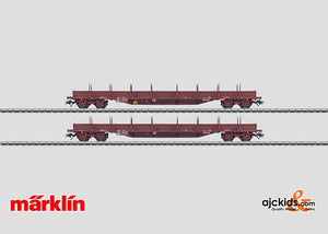 Marklin 47011 - Set with 2 Low Side Cars
