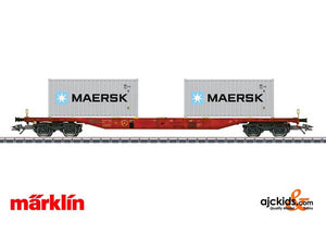 Marklin 47059 - DK Type Sgnss Container Transport Car