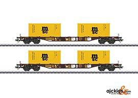 Marklin 47095 - Type Sgns Container Transport 2-Car Set MSC