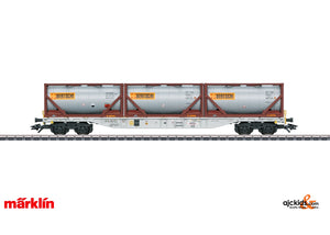Marklin 47097 - Type Sgnss Container Transport Car
