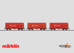 Marklin 47202 - Set with 3 Sliding Tarp Cars Schenker
