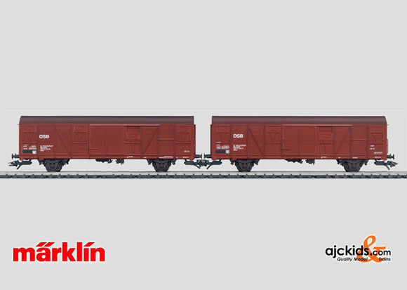 Marklin 47314 - Freight Boxcar Set in H0 Scale
