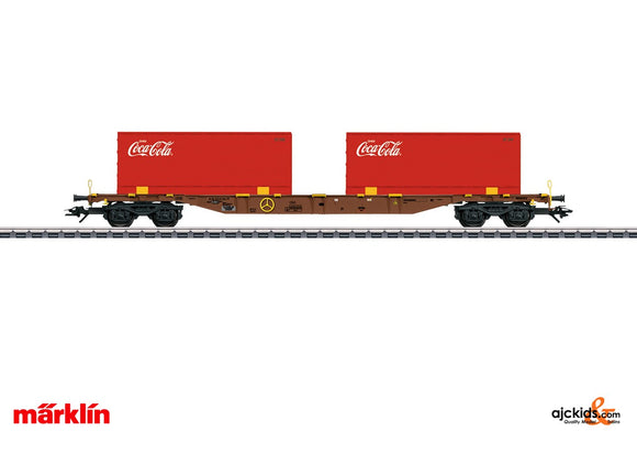 Marklin 47434 - Type Sgns Container Transport Car in H0 Scale