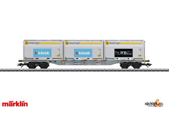 Marklin 47459 - Type Sgnss Container Transport Car