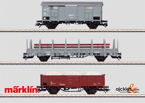 Marklin 47876 - Set with 3 Construction Train Cars