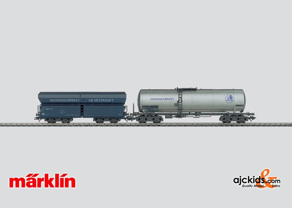 Marklin 47887 - Fuel transport set in H0 Scale