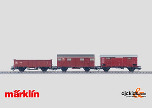 Marklin 47889 - Freight car set (3)