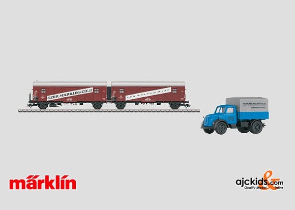 Marklin 48009 - H0 Museum Car Set for 2009 in H0 Scale