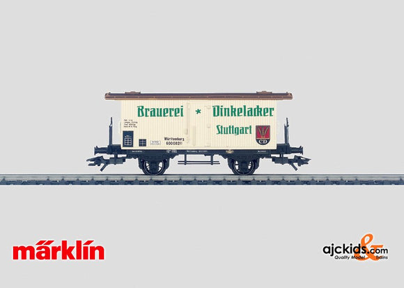 Marklin 48283 - Dinkelacker beer car in H0 Scale