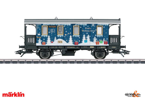 Marklin 48419 - H0 Christmas Car for 2019 in H0 Scale