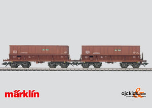 Marklin 48447 - Car Set with 2 Ore Transporters in H0 Scale