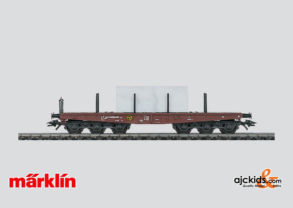 Marklin 48662 - Heavy Duty Flat Car, type Sammp in H0 Scale