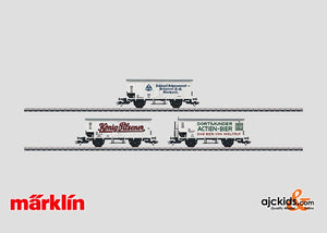 Marklin 48773 - Beer Car Set in H0 Scale