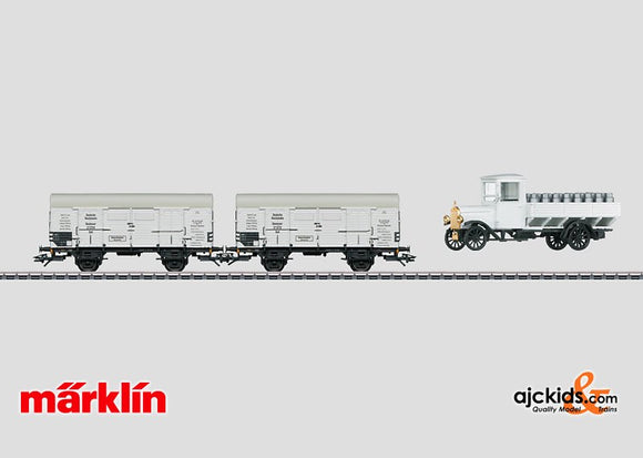 Marklin 48815 - Milk Car Set