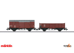 Marklin 55046 - Freight Train Starter Set w/Mobile Station