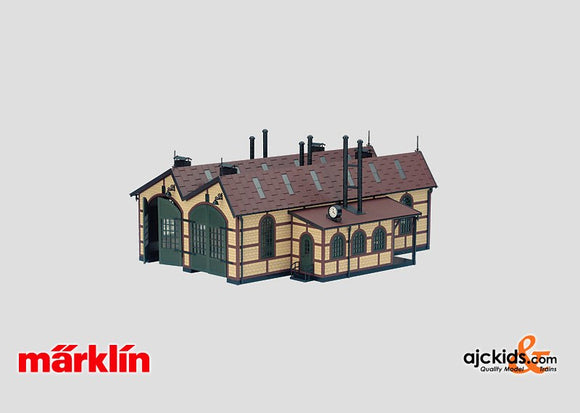 Marklin 56170 - Building Kit of a Locomotive Shed
