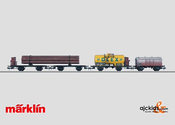 Marklin 58219 - Set with 3 Freight Cars