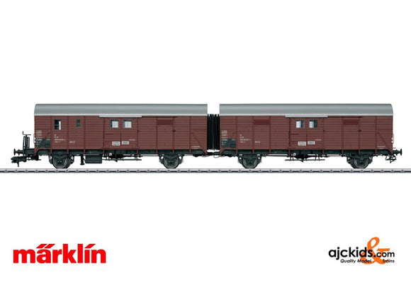 Marklin 58248 - Leig Unit freight car pair
