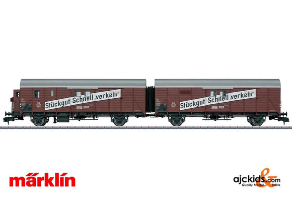 Marklin 58249 - Leig Unit freight car pair
