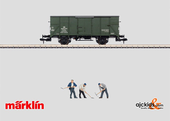 Marklin 58261 - Maintenance Train Equipment Car with Sound Effects