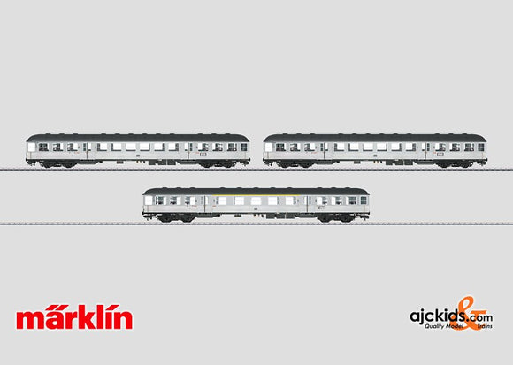 Marklin 58341 - Silberlinge Commuter Car Set (digital)