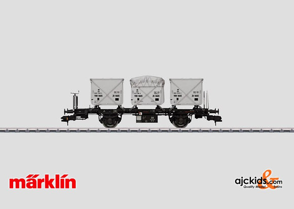 Marklin 58471 - Flat Car with Containers - Used