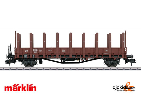 Marklin 58480 - Freight car type Rmms 33 Ulm stake car