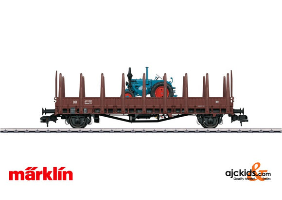 Marklin 58481 - Freight Car type Rmms 33 Ulm stake car