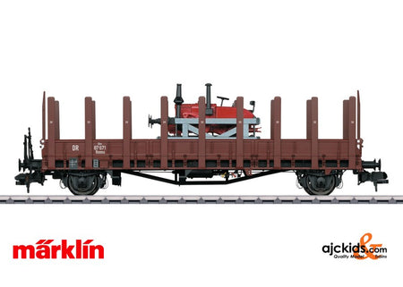 Marklin 58482 - Freight Car type Rmm Ulm stake car
