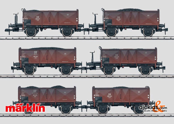 Marklin 58501 - Car Set - 6 Gondolas