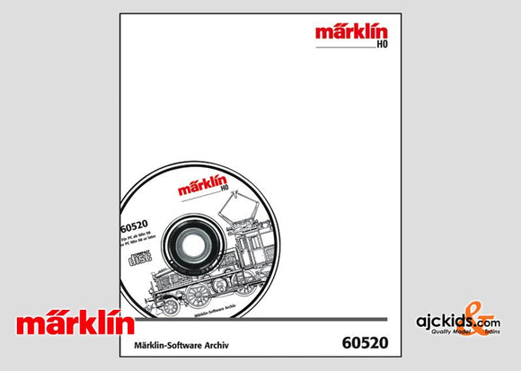 Marklin 60520 - Software Archive (in German) in H0 Scale