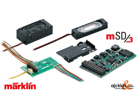 Marklin 60975 - Marklin mSD3 SoundDecoder (Steam)