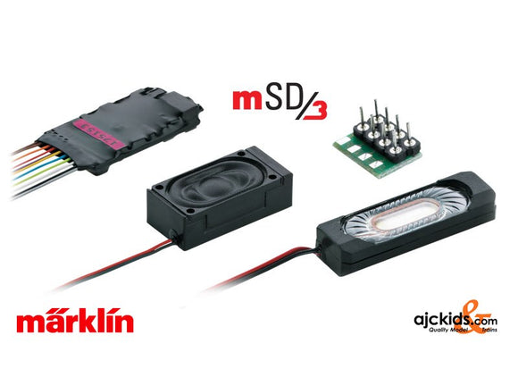 Marklin 60986 - mSD3 SoundDecoder (wiring harness) Diesel (also for Trix)