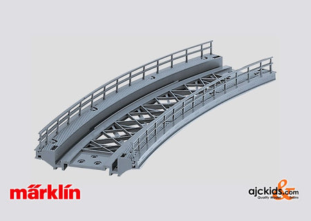Marklin 7267 - Curved Ramp (for K and M track) in H0 Scale
