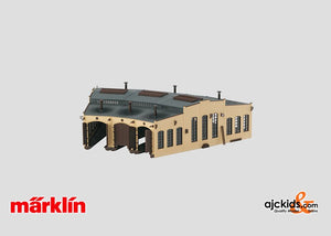 Marklin 72883 - Locomotive Shed Kit in H0 Scale