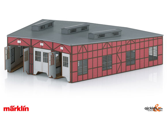 Marklin 72886 - Locomotive Shed Kit