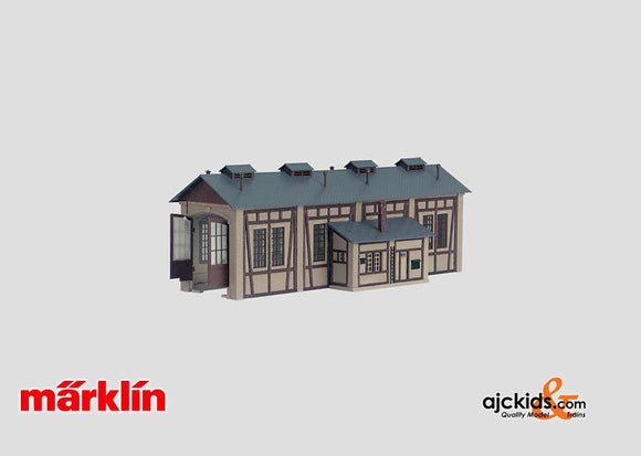 Marklin 72893 - Building Kit of a Locomotive Shed