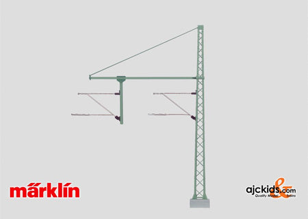 Marklin 74106 - Tower Mast with a Tubular Outrigger Beam for a Hanger Arm. in H0 Scale