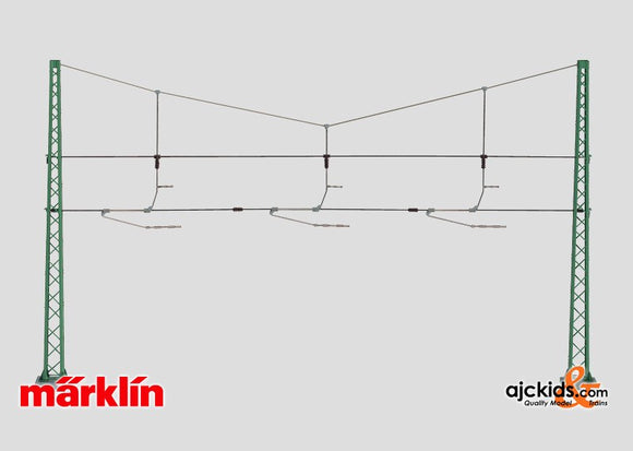 Marklin 74131 - Cross Span assembly for 3 Tracks in H0 Scale