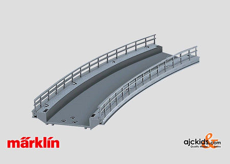 Marklin 74613 - Curved Ramp R-1 (for C-Track) in H0 Scale