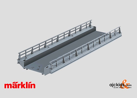 Marklin 74618 - Straight Ramp (for C-Track) in H0 Scale