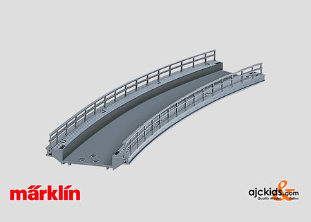 Marklin 74623 - Curved Ramp R-2 (for C-Track) in H0 Scale