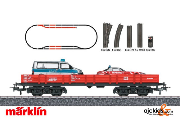 Marklin 78752 - Fire Station Theme Extension Set in H0 Scale