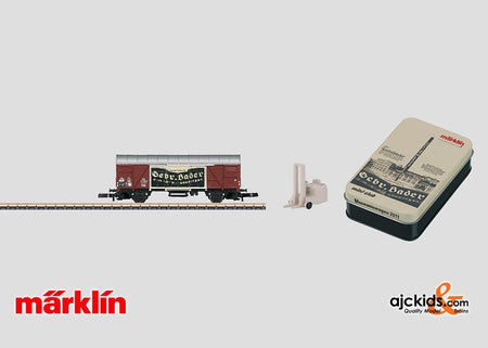 Marklin 80022 - Z Gauge Museum Car Set for 2011