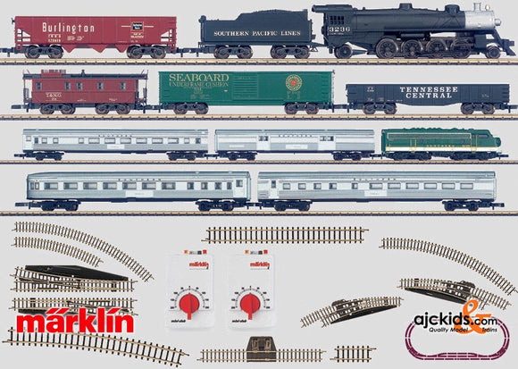 Marklin 81835 - Super Deluxe US start set