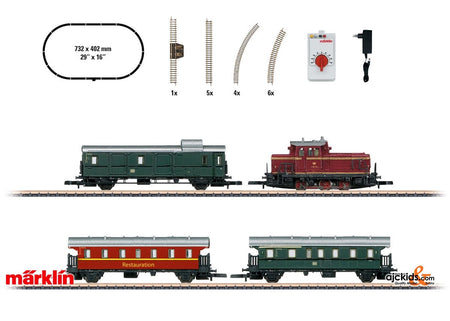 Marklin 81871 - Museum Passenger Train Starter Set (120 volts)